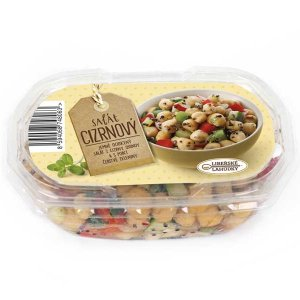 salát s cizrnou, cizrna, cizrnový salát s quinnou